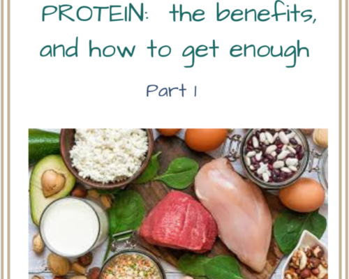 Protein PART 1 : benefits and how you know you are getting enough!